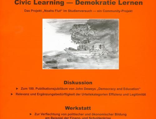 Politisches Lernen 1-2/2016