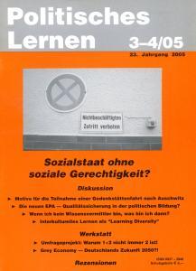 Politisches Lernen 3-4/05