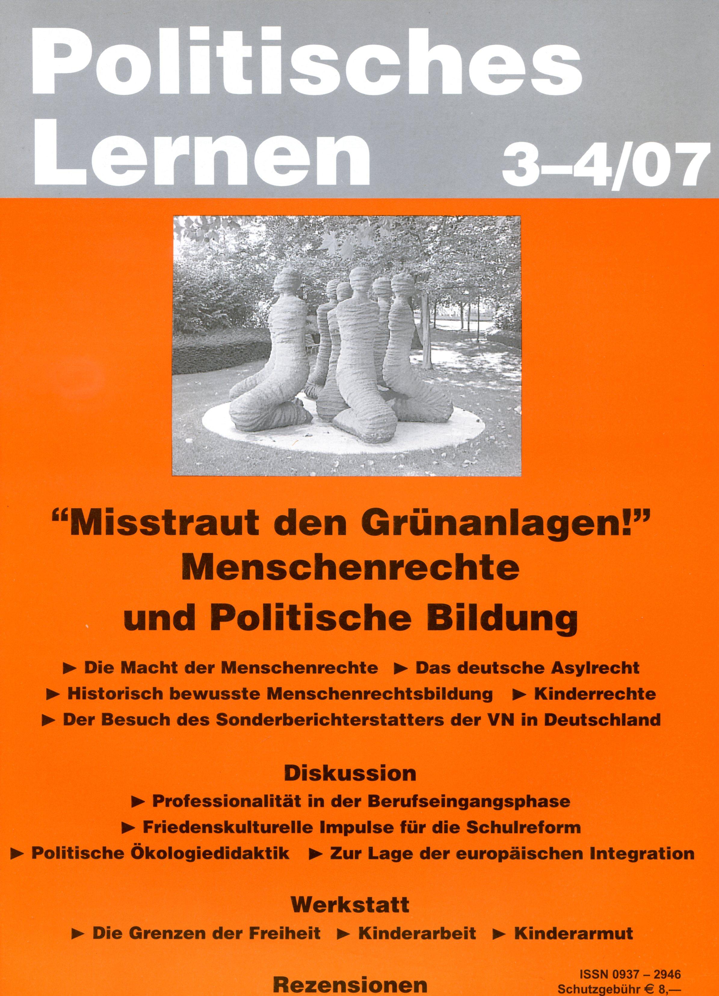 Politisches Lernen 3-4/07