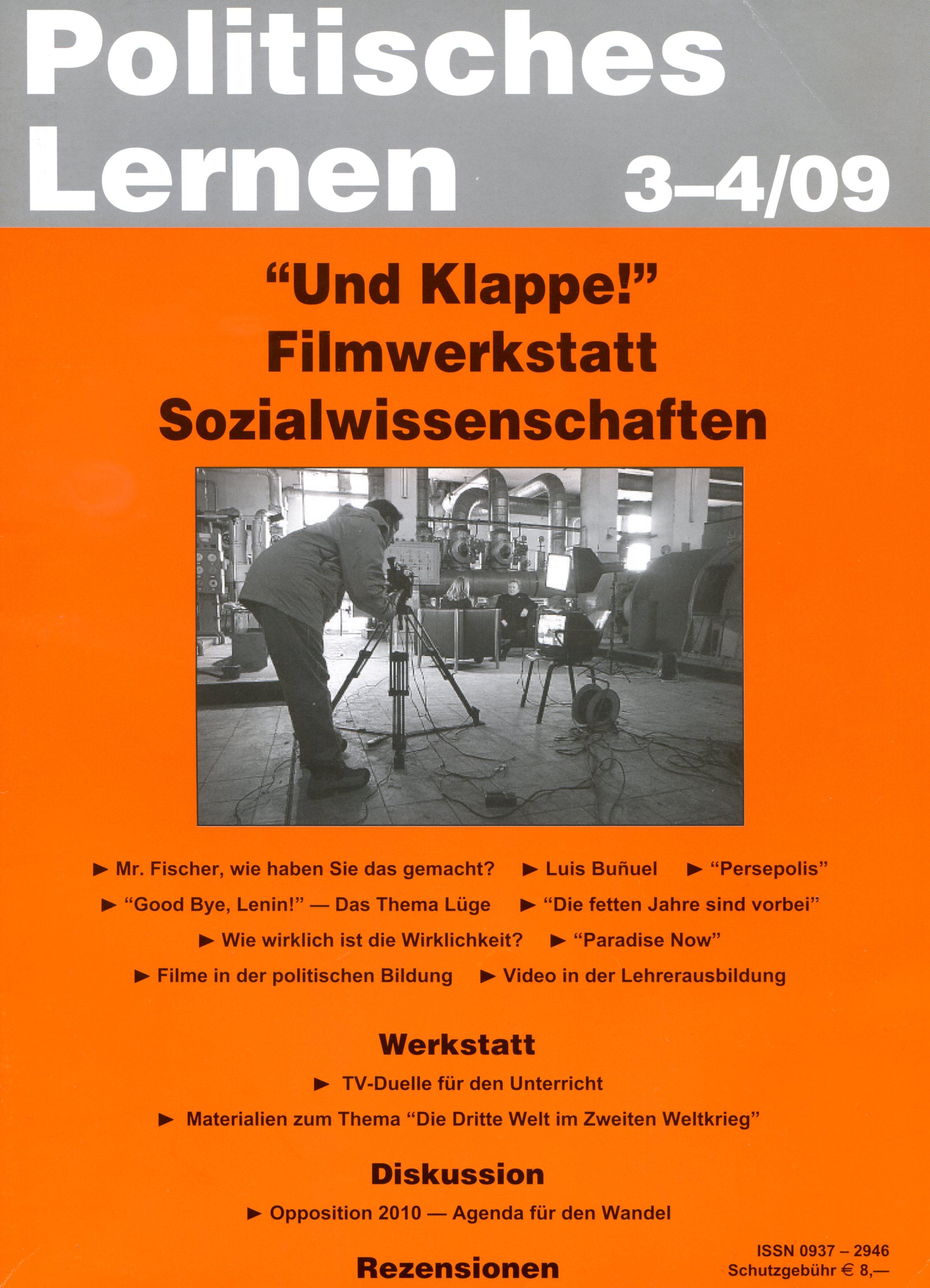 Politisches Lernen 3-4/2009