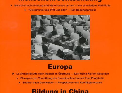 Politisches Lernen 3-4/2014