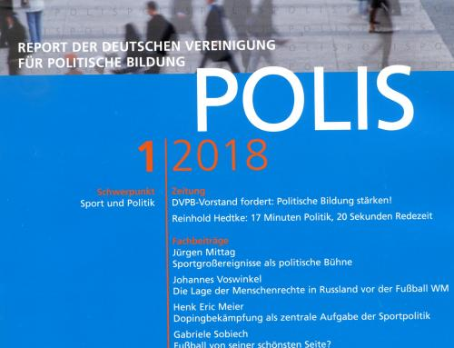 POLIS 1/2018 ist da!