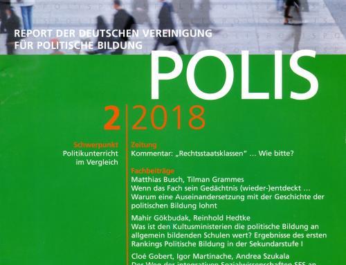 POLIS 2-2018 Politikunterricht im Vergleich