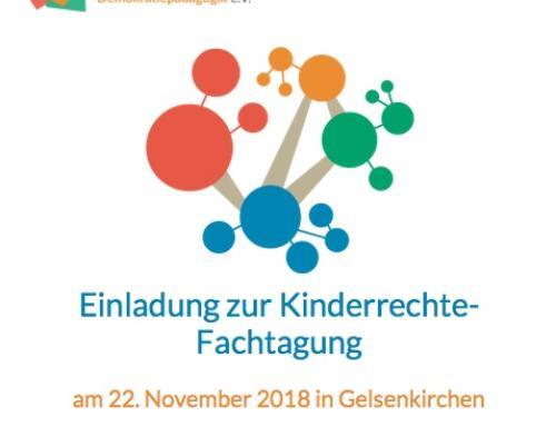Fachtagung Kinderrechte in NRW