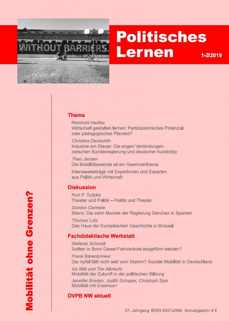 Politisches Lernen 1-2/2109